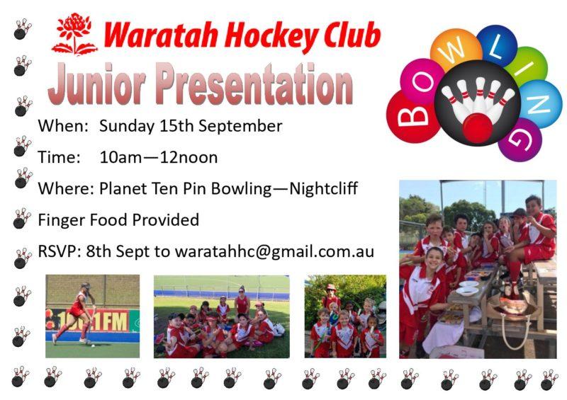 News Waratah Hockey Club